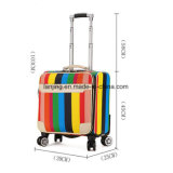 Bw1-173牛印刷4の車輪の柔らかいトロリー荷物旅行袋