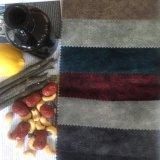 Micro poliéster tejido de terciopelo para Backseat Almohada