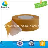 el doble del papel de tejido 80mic echó a un lado el pegamento caliente del derretimiento de la cinta (DTH08)