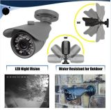 4CH 1080P 2MP Ahd CCTVの保安用カメラDVRキット