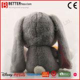 Personalizar recheadas brinquedo programável Animal coelhinho de pelúcia Coelho com cenoura