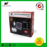 Sistema solar Home portátil de venda superior com bateria do Lítio-Íon painel solar de 4 watts