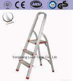 3 Jobstepp-Strichleiter-Arbeits-Hilfsmittel-Aluminium-Strichleiter