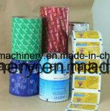 Máquina que lamina basada solvente de alta velocidad para el papel