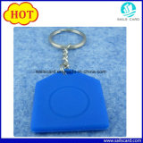 corrente chave Fob de 13.56MHz RFID do silicone chave do Tag F08 RFID