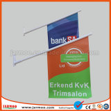 Реклама на ПВХ флаг на стене