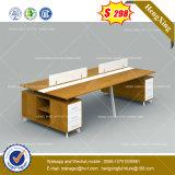 Table de bureau en bois de noyer noir l'école Labège mobilier de bureau (HX-8NE1064)