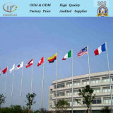 Altamente Customerized Anti-Oxidation Flagpole cónica