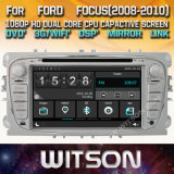 Tela de Toque do Windows Witson aluguer de DVD para Ford Mondeo Focus 2008 S Max