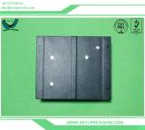 Schwarzes Andonized, das CNC maschinell bearbeitet Ersatzteile prägt