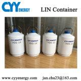 Vase de Dewar cryogénique transportable d'azote liquide de laboratoire pour le transport de lait