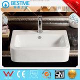 Acessórios de casa de banho com vidro cerâmico Lavar Sinks Bc-7066