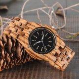 Reloj de madera del movimiento del cuarzo de la manera