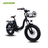 [20ينش] إطار العجلة سمين دراجة [فولدبل] كهربائيّة مع [رشرجبل بتّري] لأنّ عمليّة بيع