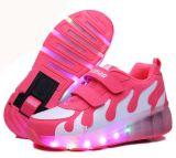 Zapatos del rodillo de la alta calidad que contellean con diseño auto