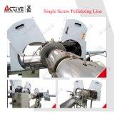 Déchets de plastique le bouletage Machine/Ligne/bouletage la granulation de machine