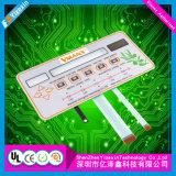 De capacitieve Schakelaar van het Membraan van de Telecommunicatie-uitrusting van de Aanraking Gebruikte