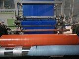 Bleu/Orange Couverture de toiture plastique imperméable en plastique de la bâche de protection