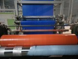 Plástico azul/laranja de plástico impermeável de lona de cobertura de telhados