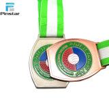 Pinstar passten fantastische Metallfertigkeiten handgemachte Metallmedaillen-Sport-Medaille an
