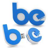 PVC en caoutchouc personnalisé lecteur Flash USB par vos idées et de la conception