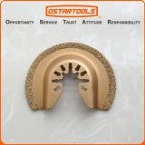 Semicircle de oscilação da ferramenta do carboneto de 64mm (2-1/2 '') o multi considerou a lâmina