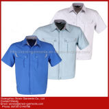 Uniforme de trabalho da luva feito-à-medida do Short do verão da alta qualidade para o Workwear dos homens (W359)