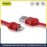 Design de coroa de 8 pinos do cabo carregador USB para iPhone