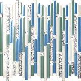 Il mosaico di cristallo della piscina molti colori per sceglie i servizi professionali dell'esportazione di Foshan