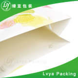 Saco de portador de empacotamento impresso do papel para a roupa do presente da compra