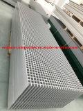 Rejilla de plástico reforzado con fibra utilizada como valla