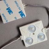 módulo de 3LEDs 140lm 1.44W SMD5730 LED para hacer publicidad de la carta de la señalización/de canal/del rectángulo ligero/de la señalización electrónica