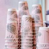 Boda y parte de la Copa de papel de pared doble con aislamiento de café para bebidas