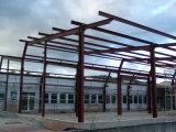 Легкие стальные конструкции рамы на заводе рабочее совещание с высоким качеством