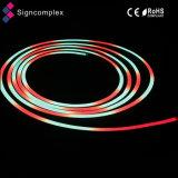 Digital 14,4 W/m Full IP68 étanche de changement de couleur de la corde au néon de lumière à LED