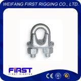 DIN741可鍛性鋼線ロープクリップ