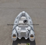 Liya 3.8m Fiberglas-Rumpf-steifes aufblasbares Boots-Rippen-Kreuzfahrt-Boot