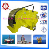 12500lbs Pneumatic Offshore Air Winch for Rig Floor