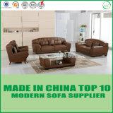Софа стильного офиса мебели установленного модульная кожаный деревянная