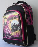 Adolescente dei bambini di nuovo al sacchetto Daypack dello zaino dell'allievo del banco