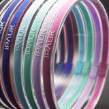 Huit bandeaux antidérapage de sport de silicones de couleurs