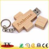 승진 품목 제품을%s 나무로 되는 USB 지팡이