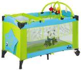 高品質の第2層の赤ん坊のベビーサークル旅行折畳み式ベッドの赤ん坊のまぐさ桶のヨーロッパ規格のベビーサークル