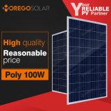 Poly panneau à énergie solaire de Morego 100W avec le bon prix