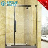 Engrossar a porta inoxidável do chuveiro do frame de aço (BL-F3612)