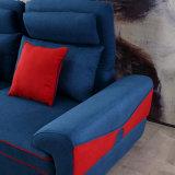 Sofá do canto do projeto moderno para o quarto Furniture-Fb1149 da base do hotel