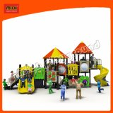Espiral de plástico personalizada deslize Kids parque ao ar livre