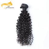 Cheveu brésilien en gros de Vierge d'extrémités épaisses et saines bon marché