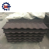 Directamente de fábrica fabrica tejas de acero recubierto de piedra