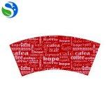 Mejor ventilador de papel de gama alta de la taza del cartón del café de China que corta con tintas